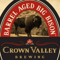 Crown Valley Barrel Aged Big Bison Ale