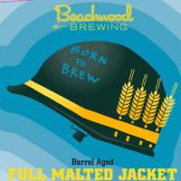Beachwood Barrel-Aged Full Malted Jacket label