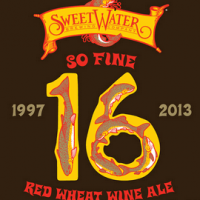 SweetWater 16 Red Wheat Wine Ale