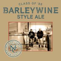 North Coast Class of 88 Barleywine label