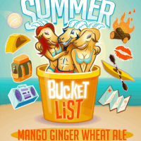 Horny Goat Summer Bucket List Mango Ginger Wheat Ale