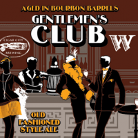 Widmer Brothers Bourbon Barrel Gentlemen's Club