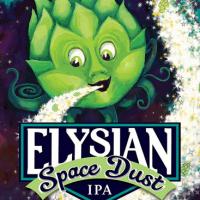 Elysian Space Dust IPA label