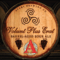 Avery Volunt Plus Erat Barrel-Aged Sour Ale label