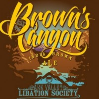 Brown's Canyon India Brown Ale label