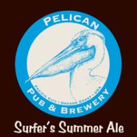 Pelican Surfer's Summer Ale label