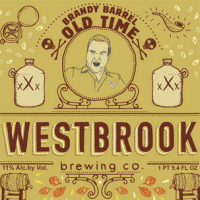 Westbrook Brandy Barrel Old Time Belgian Dark Ale