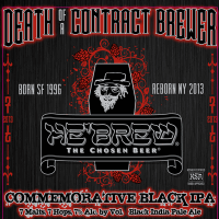 Shmaltz Death of a Contract Brewer label