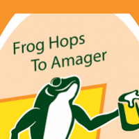 Frog Hops To Amager Imperial Wheat Stout