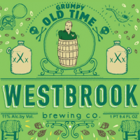 Westbrook Grumpy Old Time Apple Brandy Barrel Aged Belgian Dark Ale