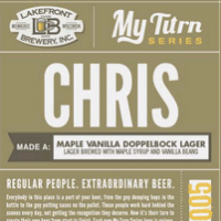 Lakefront Chris Maple Vanilla Doppelbock Lager
