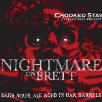 Crooked Stave Nightmare on Brett Dark Sour Ale