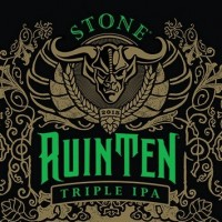 Stone RuinTen Triple IPA label BeerPulse