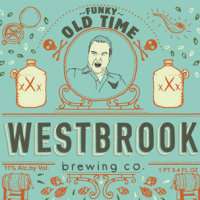 Westbrook Funky Old Time Red Wine Barrel Aged Belgian Dark Ale