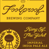 Foolproof King of the Yahd Imperial IPA