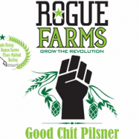 Rogue Farms Good Chit Pilsner