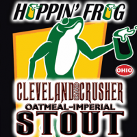 Hoppin' Frog Cleveland Brand Crusher Oatmeal-Imperial Stout