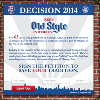 Old Style petition site