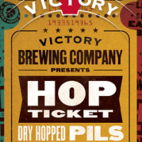 victory hop ticket dry hopped pils