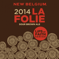 New Belgium La Folie Sour Brown Ale 2014