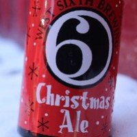 West Sixth Christmas Ale cans