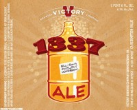 Victory 1337 Ale label