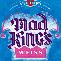 Victory Mad King's Weiss European Wheat Ale