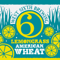 West Sixth Lemongrass American Wheat