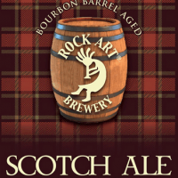 Rock Art Scotch Ale Aged in Bourbon Barrels
