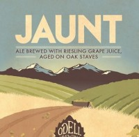 Odell Jaunt Ale Aged on Oak