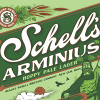 Schell's Arminus Hoppy Pale Lager can
