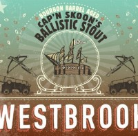 Westbrook Bourbon Barrel Aged Cap'n Skoon's Ballistic Baltic Stout