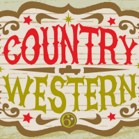 country western label
