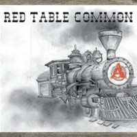 Avery Red Table Common label