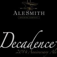 AleSmith Decadence 2014 Wheat Wine