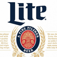Miller Lite 12oz heritage bottle