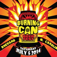 Oskar Blues Burning Can Brevard Beer Fest