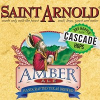 Saint Arnold Amber Ale Dry Hopped with Cascade Hops