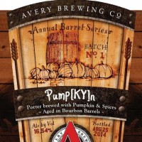 Avery Pump[KY]n Bourbon Barrel Aged Imperial Pumpkin Porter