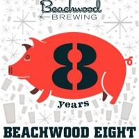 Beachwood Eight IPA label
