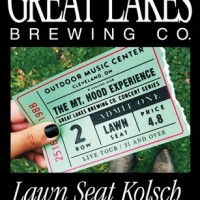 Great Lakes Lawn Seat Kolsch label