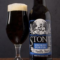 stone smoked porter with vanilla bean banner