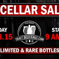 Craft Beer Kings Cellar Sale 2015