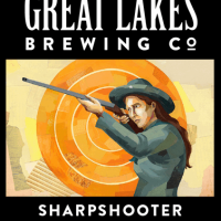Great Lakes Sharpshooter Session Wheat IPA label BeerPulse