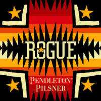 Rogue Pendleton Pilsner label BeerPulse