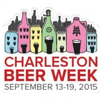 charleston beer week logo 2015 beerpulse
