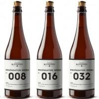 Beachwood Blendery Propagation Series bottle lineup BeerPulse