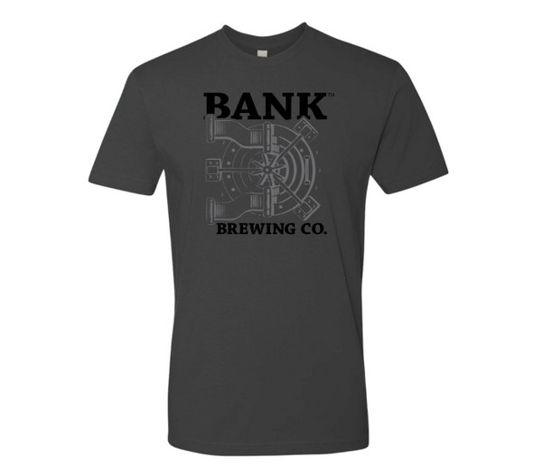 beer t shirt of the month club featuring bank beer for