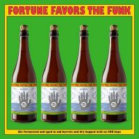 Beachwood Fortune Favors the Funk bottle lineup