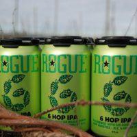 Rogue 6 Hop IPA cans BeerPulse